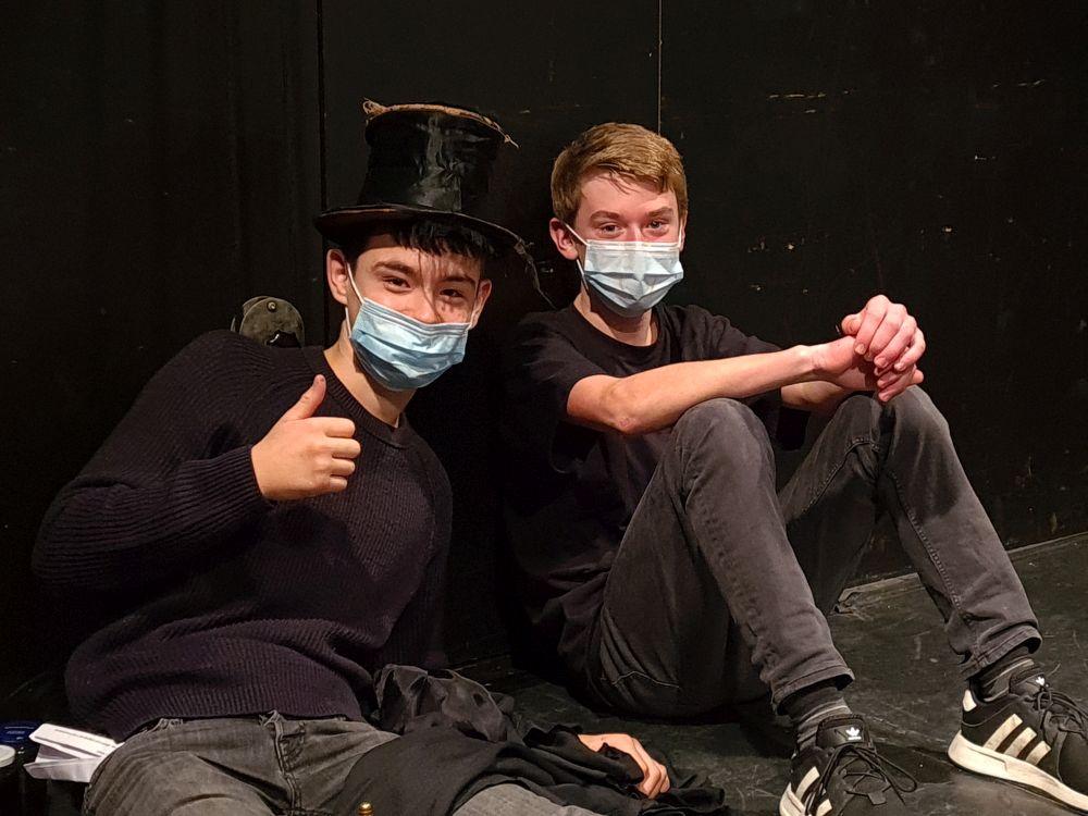 Bild:Theaterprojekt der Klasse 8a